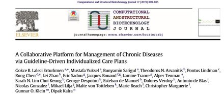 A Collaborative Platform for Management of Chronic Diseases via Guideline-Driven Individualized Care Plans